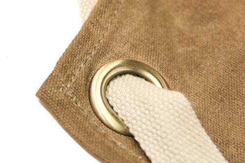 Readywares Waxed Canvas Utility Apron, Cross-back Straps (Tan) by Readywares (Image #5)