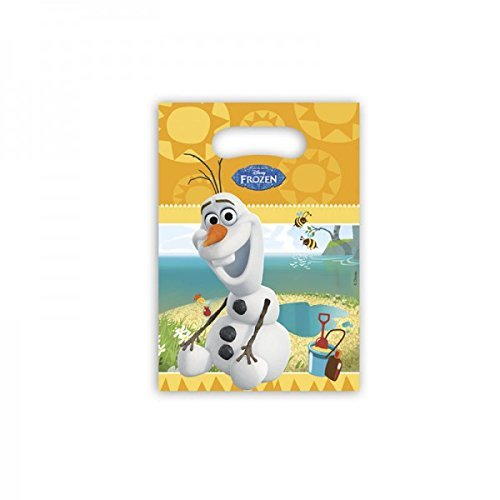 Disney Frozen Party Bags, Pack of 6 featuring Summer Olaf ()
