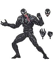 Hasbro Marvel Classic E9335 Legends Series Venom 6-inch Collectible Action Figure Venom Toy, Premium Design and 3 Accessories