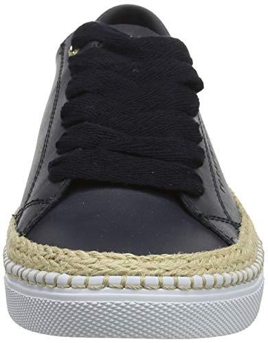 Tommy Hilfiger Damen Tommy Jute City Sneaker, Blau (Midnight 403), 39 EU 2