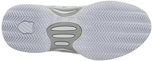 K-swiss Udtrykkelig Læder Hb Kvinder Hvid / Sølv 2015 Hvide Tennissko (hvid / Sølv 155) ihBFF9YLpx