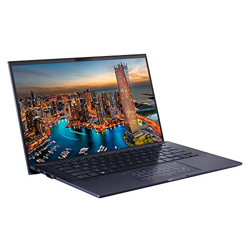 ASUS ExpertBook B9450 Full HD 14″ Laptop with 24 Hour Battery (Intel i7-10510U, 16GB RAM, 512GB M.2 NVMe SSD, Windows 10 Professional, NumberPad) – Includes Sleeve & Micro HDMI to RJ45 cable