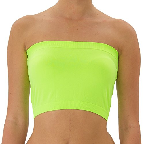 51622253219 TD Collections Women s Basic Stretch Bandeau Bra Tube Top Free Size - Buy  Online in Oman.
