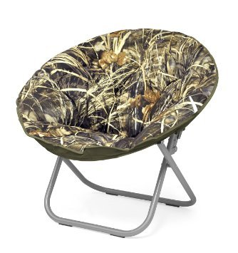 Elegant Realtree Camouflage Camo Saucer Chair, Perfect For Kids, Teens And Gaming