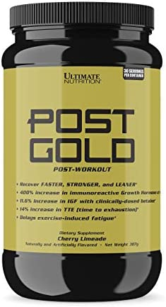 Ultimate Nutrition Post Gold Post-Workout Muscle Recovery Fatigue Reducing Powder