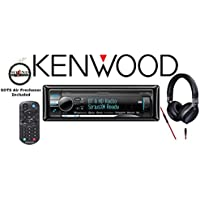 Kenwood KDC-X998 eXcelonCD Receiver with 900 Series Kenwood Headphones KH-KR900 and a FREE SOTS Air Freshener