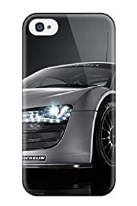 New DNIgjUa16646CWagq Audi R8 Lms Tpu Cover Case For Iphone 4/4s