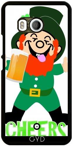 Funda para Htc U11 - Leprechaun De La Cerveza Irlandesa by Blingiton