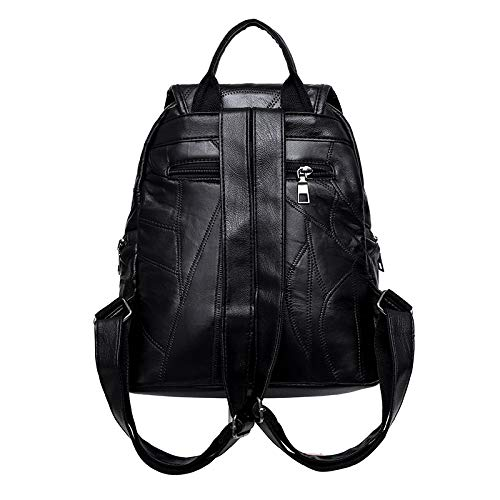 Ienjoy Leather Shoulder Sheep Bag Bag And Real Backpack Cosmetic ra8qrz
