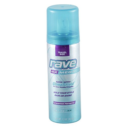 Travel Hairspray Unscented Aerosal Trave