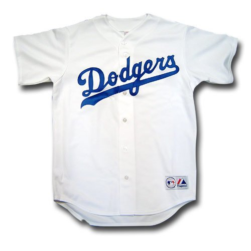Los Angeles Dodgers Replica MLB Baseball Jersey - Home Large ()