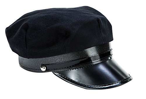 Price comparison product image Kangaroos Black Chauffeur Limo Driver Costume Hat