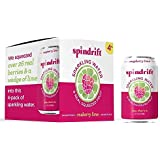 Spindrift Raspberry Lime Sparkling Water, 12 Fl. Oz. Cans (Pack of 4)