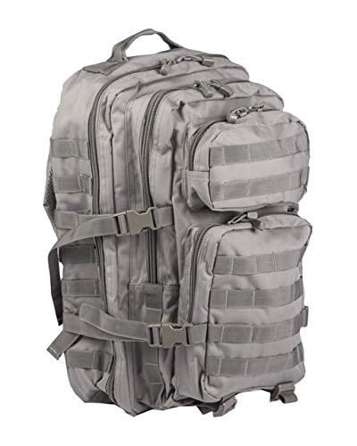 -  Mil-Tec Military Army Patrol Molle Assault Pack Tactical Combat Rucksack Backpack Bag 36L Foliage Green