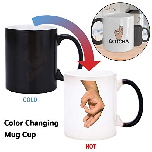 Circle Game Coffee Mug Cup Margaret Atwood Gifts Heat Colour Change Joke Funny