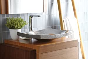 Laguna Copper Vanity Vessel Sink in Brushed Nickel