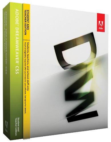Adobe Dreamweaver CS5 5 Student Teacher