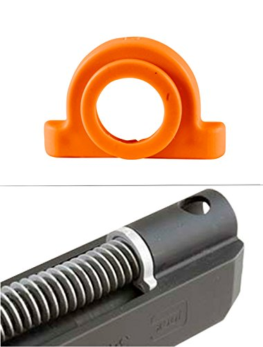 Ultimate Arms Gear Orange Recoil Impact Cushion Shock Absorber For Glock Pistol Models : 17, 17L, 18, 19, 20, 21, 22, 23, 24, 24C, 31, 32, and - Plug Recoil Spring