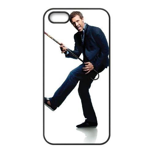 House 1 coque iPhone 4 4S cellulaire cas coque de téléphone cas téléphone cellulaire noir couvercle EEEXLKNBC25803