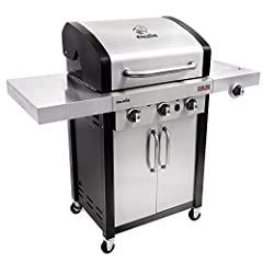 The Char-Broil Signature TRU-Infrared 420 is a 3-burner gas grill featuring Char-Broil's TRU-Infrared cooking system. The TRU-Infrared technology provides better performance with greater temperature range and control. Features stainless steel...