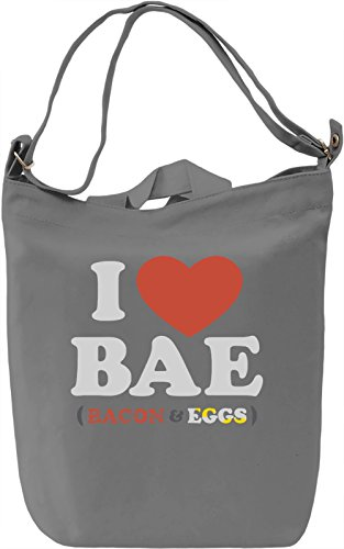 I Love Bae Borsa Giornaliera Canvas Canvas Day Bag| 100% Premium Cotton Canvas| DTG Printing|