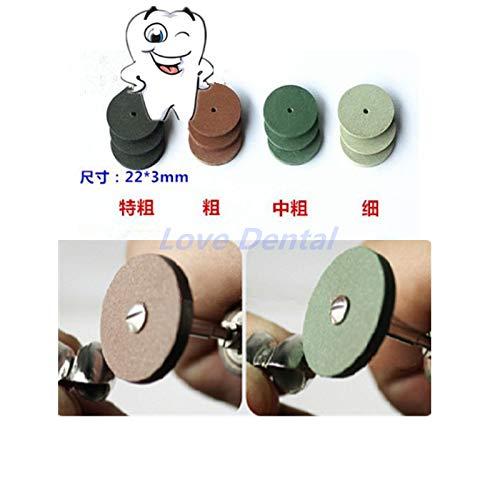 Portal Cool Pulidoras de Silicona para Laboratorio Dental Surtidas de 100 Piezas Burs pulidoras de Silicona - 4 Colores Wide Spread