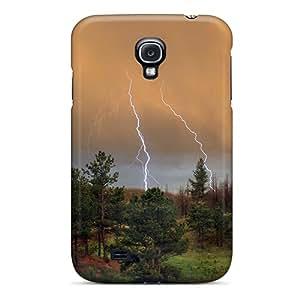 Unique Design Galaxy S4 Durable Tpu Case Cover Summer Storm