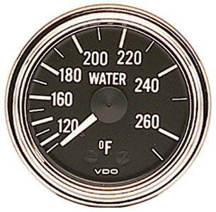 CapTubing VDO 180-301D Water Temp 72in