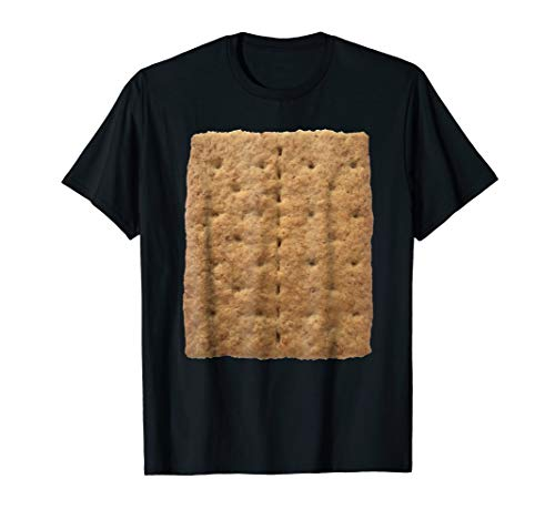 Graham Cracker Camping and Smores Halloween Costume T-shirt]()