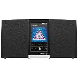 Aluratek AIRMM03F Wi-Fi Internet Radio Streaming Pandora, Slacker, iHeart, Spotify (Black)