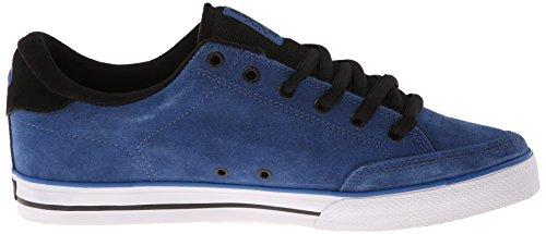 C1RCA Lopez50 - zapatilla deportiva de cuero unisex Blau (DBBLK/ DARK BLUE/BLACK)