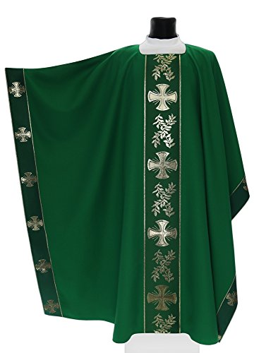Green Monastic Chasuble