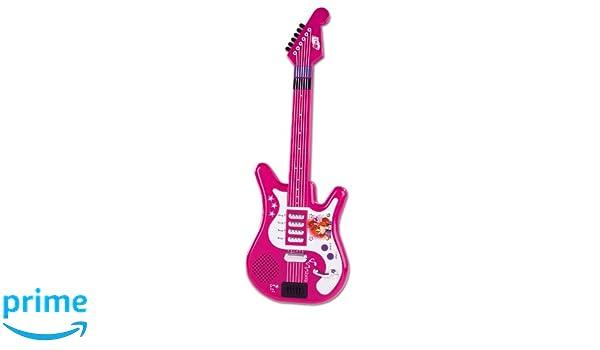 Smoby 27282 - Guitarra eléctrica de juguete, diseño de Winx: Amazon.es: Juguetes y juegos