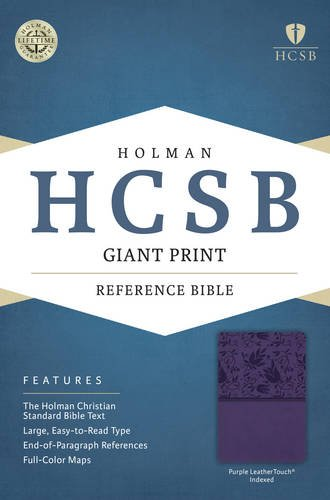 HCSB Giant Print Reference Bible, Purple LeatherTouch Indexed pdf