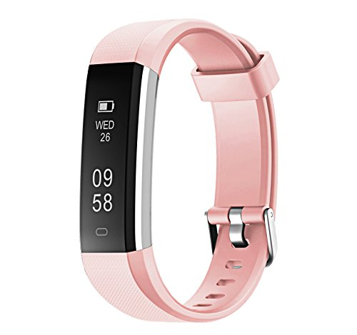 NewYouDirect Fitness Tracker, Activity Tracker Pedometer Waterproof Sports Smart Watch with Sleep Monitor Calorie/Step Counter for iPhone Samsung LG etc for Women Men (Target Mens Bracelets)