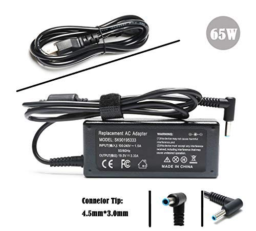 Laptop Charger AC Adapter for HP 15-F009WM 15-F023WM 15-F039
