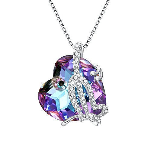 925 Sterling Silver Butterfly Pendant - EleQueen 925 Sterling Silver CZ