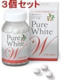 Shiseido Pure White W For Shiny Skin 270 Tablets 3 Set