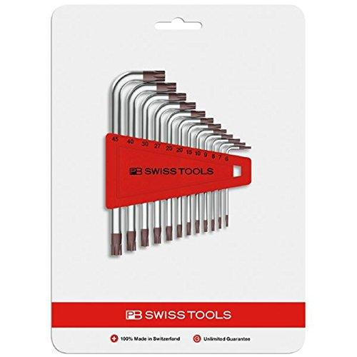 生活日用品 DIYグッズ工具 410H6-25CN L型ヘクスローブレンチセット(8本組) B07566FWDT