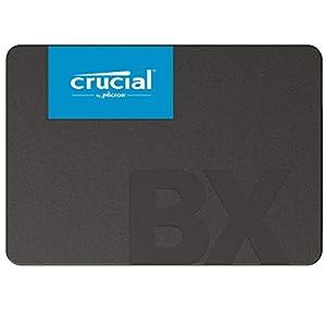 Crucial クルーシャル SSD 240GB BX500 SATA3 内蔵2.5インチ 7mm CT240BX500SSD1【3年保証】 [並行輸入品]
