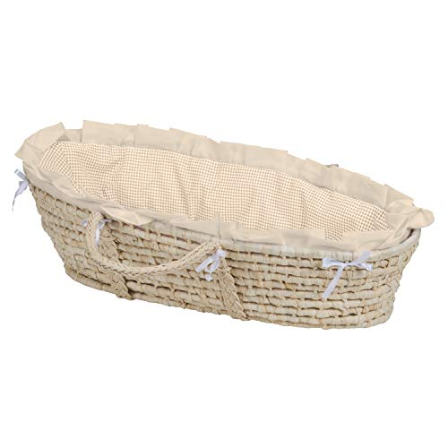 Baby Moses Basket with Liner, Sheet, and - Baby Natural Basket Moses