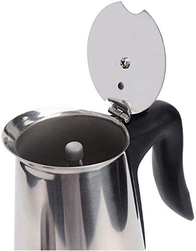 Onior 6cups / 300ml koffiezetapparaat Aluminium Materiaal Coffee Pots Mocha Coffe Machine Filter van de koffie Espresso Maker Anti-Kokend Handle Design met Base
