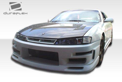 1997-1998 Nissan 240SX Duraflex C-Speed Body Kit - 4 Piece - Includes C-Speed Front Bumper Cover (103558)C-Speed Rear Bumper Cover (103560) C-Speed Side Skirts Rocker Panels (103559)