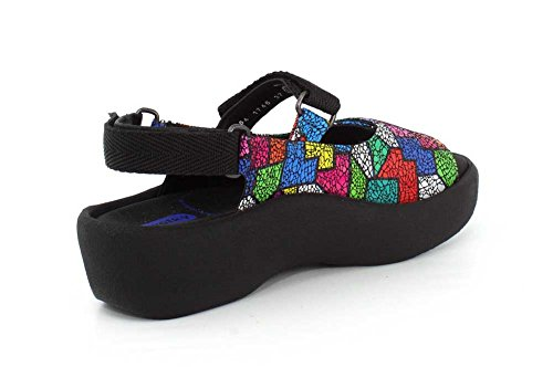 3204 Multicolor Wolky Jewel Sandals Womens Leather 8x556wqX