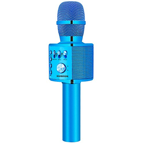 Review BONAOK Wireless Bluetooth Karaoke Microphone,3-in-1 Portable Handheld karaoke Mic Home Party ...