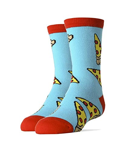 Oooh Yeah Socks Bundle of 4 Pairs of Youth Socks Donut Magic Holy Sriracha Includes Pizza Party and Me First