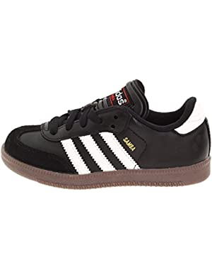 Jr Samba Classic Black/RunWht Soccer Shoes