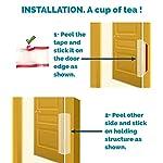 KidDough Baby Proofing Finger Pinch Door Guard for Kids | Slamming Door Protection for Child Safety | (Pack of 3) Door…