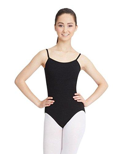 Capezio Women's Camisole Leotard With Adjustable Straps, Black, Medium