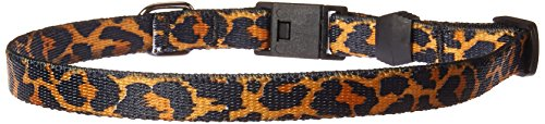 Yellow Dog Design Leopard Skin Break Away Cat Collar, One Size Fits All